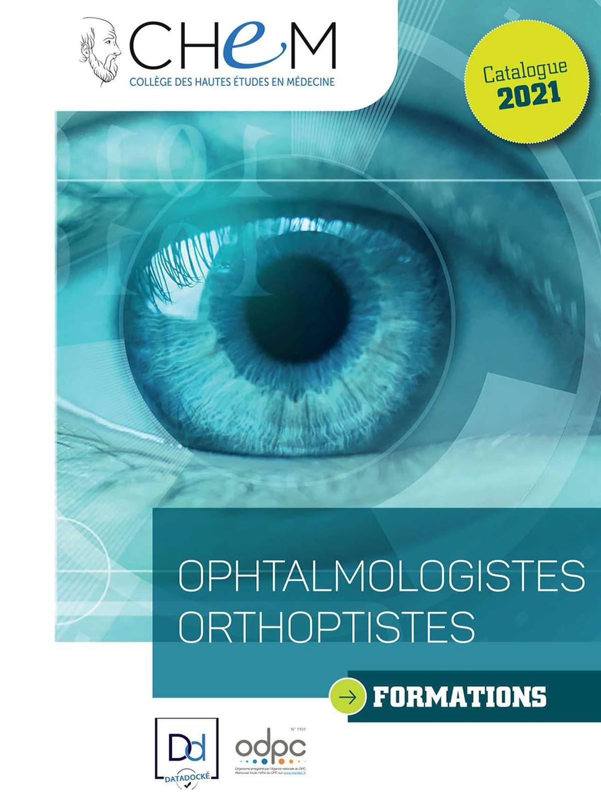 OPHTALMOLOGISTES ORTHOPTISTES